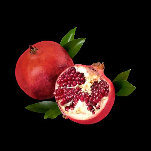 Granátová jablíčka rostou vToskánsku nakaždém rohu.