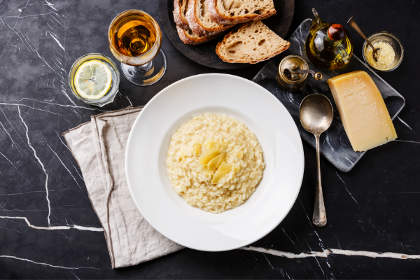 autentická italská risotti